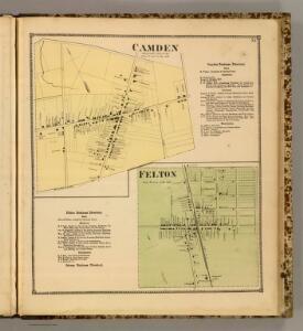Camden, Felton.