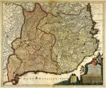 Principatus Cataloniæ et comitatus Ruscinonis, et Cerretaniæ descriptio