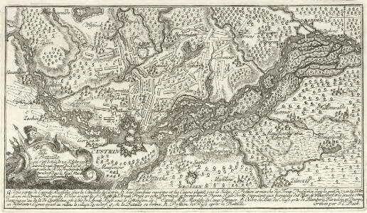 Plan der Bataille qui s'est donnée le 25. d'Août 1758 entre l'Armée Impar de Russie et celle du R. de Rrussepräs de Zorndorf dans la Nor. Machr. Brandenb.