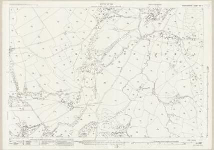 Herefordshire XVII.10 (includes: Huntington; Kington Rural) - 25 Inch Map