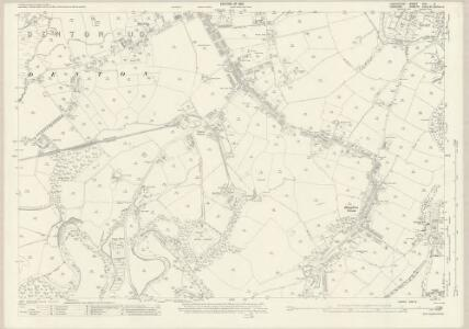 Lancashire CXII.2 (includes: Bredbury And Romiley; Denton) - 25 Inch Map