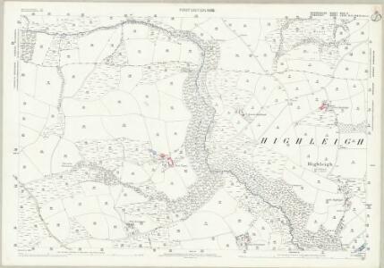 Devon XXIV.9 (includes: Bampton; Brushford; Oakford) - 25 Inch Map