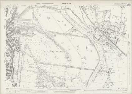 Buckinghamshire LVI.10 (includes: Datchet; New Windsor) - 25 Inch Map