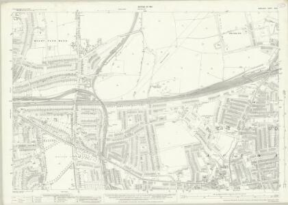 Middlesex XVI.9 (includes: Acton; Ealing St Mary) - 25 Inch Map