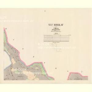 Neu Rohlau - c5202-1-002 - Kaiserpflichtexemplar der Landkarten des stabilen Katasters