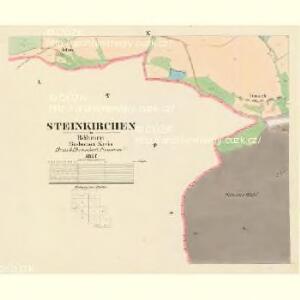 Steinkirchen - c3026-1-008 - Kaiserpflichtexemplar der Landkarten des stabilen Katasters