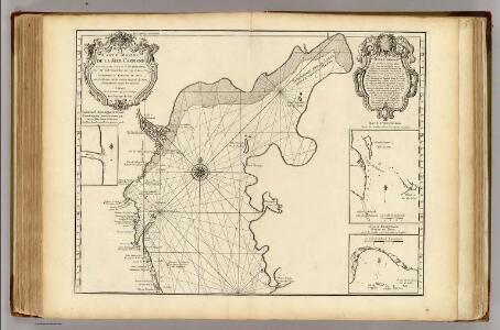 Mer Caspienne, carte marine (northern sheet)