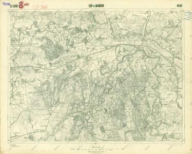 III. vojenské mapování 4668