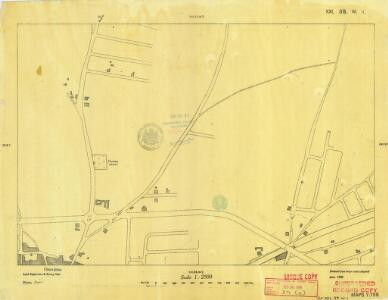 Cyprus 1: 2, 500 (Sheet XXI 39W1) 1950a