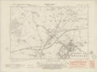 Wiltshire XLIV.NE - OS Six-Inch Map