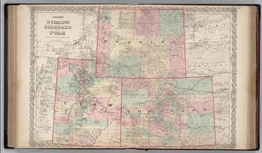 Wyoming, Colorado and Utah.