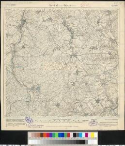 Meßtischblatt 122.(3127) : Pansdorf (Sächs.) - Triebes (Preuss.), 1919