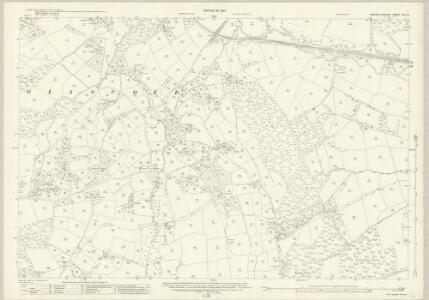 Monmouthshire XIX.13 (includes: Llanbadog Fawr) - 25 Inch Map