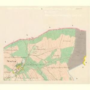 Slawikau (Slawikow) - c7026-1-002 - Kaiserpflichtexemplar der Landkarten des stabilen Katasters