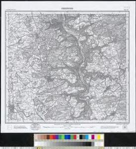 Meßtischblatt [7717] : Oberndorf, 1908