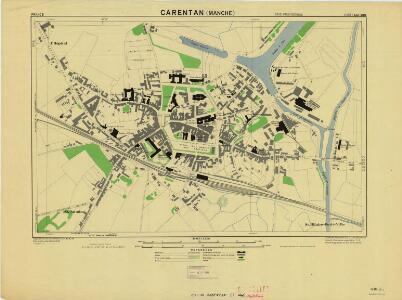 Caretan, France 1:2,500 (1944)