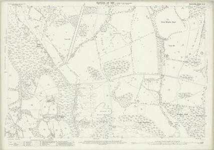 Berkshire XL.9 (includes: Old Windsor; Sunninghill; Winkfield) - 25 Inch Map