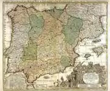 Carte generale des royaumes d'Espagne [et] de Portugal