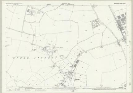 Bedfordshire XXVI.4 (includes: Henlow; Meppershall; Shillington; Upper Stondon) - 25 Inch Map