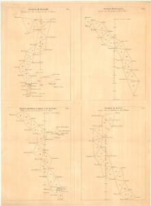Trigonometrisk grunnlag, vedlegg 65, 2-5: Grunnlagspunkter for Struves meridianbue fra Bessarabia og Volhynia