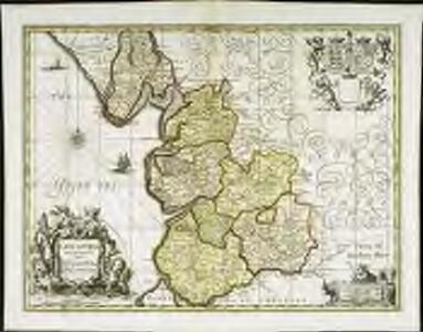 Lancastria palatinatvs anglis Lancaster [et] Lancas Shire