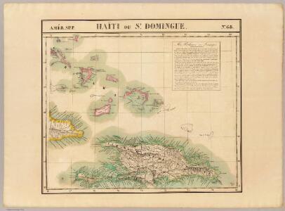 Haiti ou St. Domingue. Amer. Sep. 68.