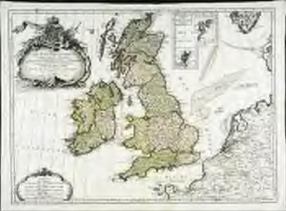 Les isles Britanniques comprenant les royaumes d'Angleterre d'Ecosse et d'Irlande