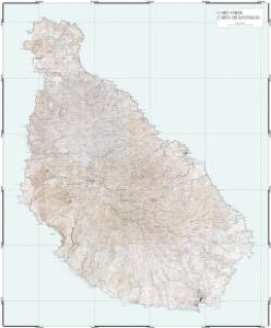 Cabo Verde Carta de Santiago