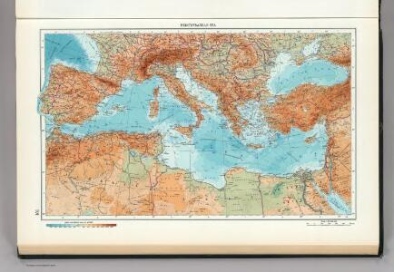 101.  Mediterranean Sea.  The World Atlas.