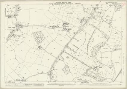 Hertfordshire XXXI.9 (includes: High Wych; Sawbridgeworth; Sheering) - 25 Inch Map