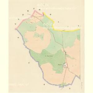 Kwasetitz - c3741-1-001 - Kaiserpflichtexemplar der Landkarten des stabilen Katasters