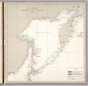 Ice Chart, Okhotsk Sea Region, October.