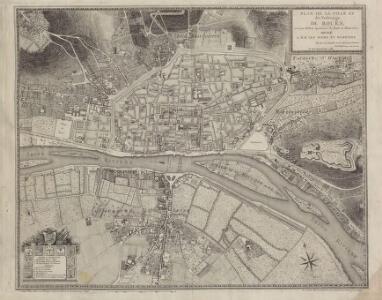 Plan de la Ville et des Faubourgs de Rouen