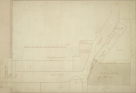 Plan of the Stable Yard, St. James and the property adjoining c. 1700