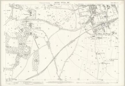Essex (1st Ed/Rev 1862-96) IX.5 (includes: Littlebury; Saffron Walden) - 25 Inch Map