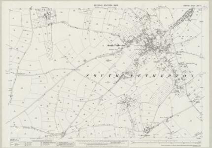 Somerset LXXXI.16 (includes: Lopen; Seavington St Michael; South Petherton) - 25 Inch Map