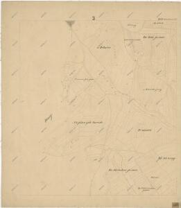 Katastrální mapa obce Babina