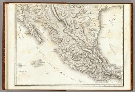 Carte Generale Du Royaume De La Nouvelle Espagne.