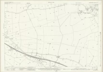 Leicestershire XLV.7 (includes: Carlton Curlieu; Kibworth Beauchamp; Kibworth Harcourt; Tur Langton; West Langton) - 25 Inch Map