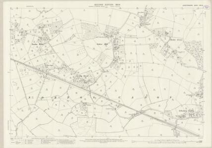 Herefordshire XXV.10 (includes: Kinnersley; Norton Canon; Staunton On Wye; Weobley) - 25 Inch Map