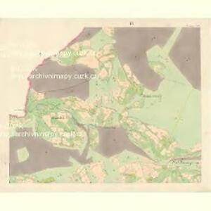 Ober Beczwa (Horny Bečwa) - m0763-1-003 - Kaiserpflichtexemplar der Landkarten des stabilen Katasters