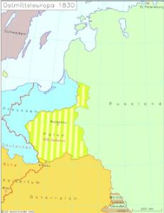 Ostmitteleuropa 1830