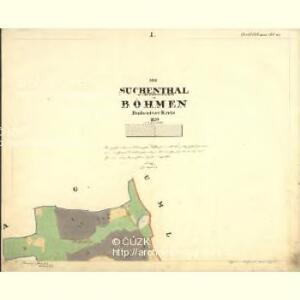 Suchenthal - c0647-2-001 - Kaiserpflichtexemplar der Landkarten des stabilen Katasters