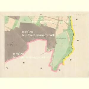 Tieschowitz (Těssauce) - c7899-1-005 - Kaiserpflichtexemplar der Landkarten des stabilen Katasters