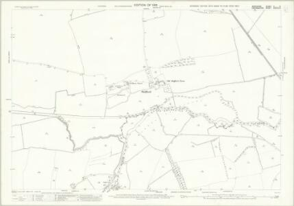 Berkshire V.9 (includes: Aston Bampton; Hinton Waldrist; Longworth; Shifford; Standlake) - 25 Inch Map