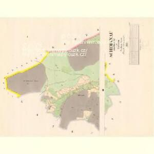 Schimanau (Ssimanow) - c7725-1-001 - Kaiserpflichtexemplar der Landkarten des stabilen Katasters