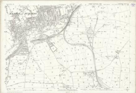 Lancashire XVI.13 (includes: Dalton In Furness; Urswick) - 25 Inch Map