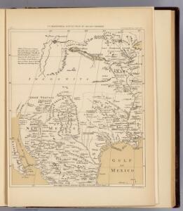 North America, 1710.