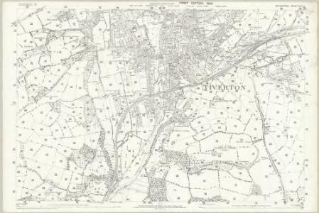 Devon XLV.7 (includes: Tiverton) - 25 Inch Map