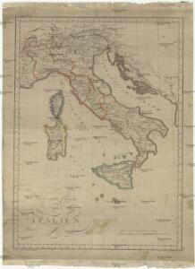 Uibersichts Charte von Italien